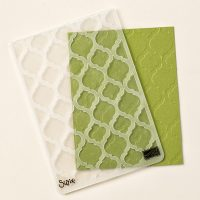 Stampin Up UK Stamp with Sarah Berry Modern Mosaic Textured Impressions Embossing Folder 129984