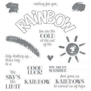 Stampin' Up! Over the Rainbow Stamp Set