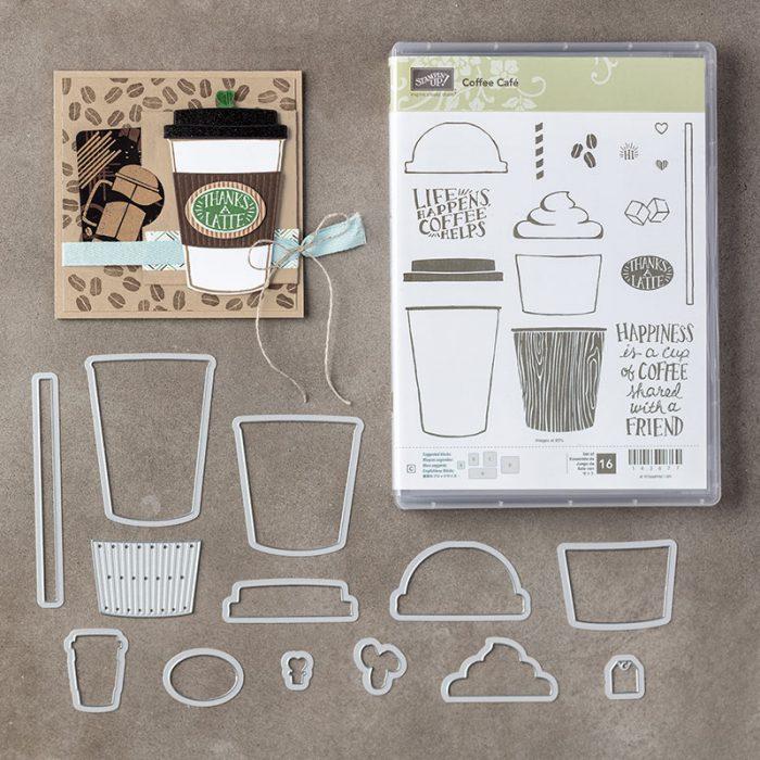 Coffee Café Photopolymer Bundle 145331G