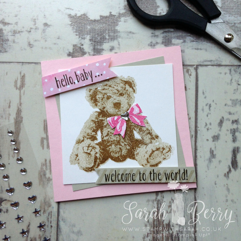 Baby Bear Hello! Annual Catalogue Blog Hop