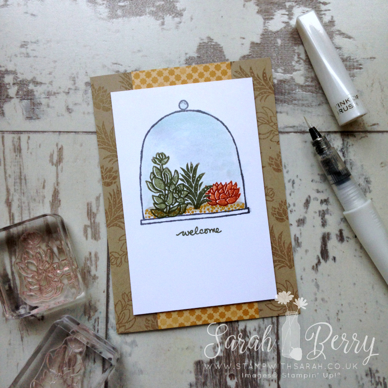 Brand new Live, Love, Grow Photopolymer Stamp Set by Sarah Berry #hellohop