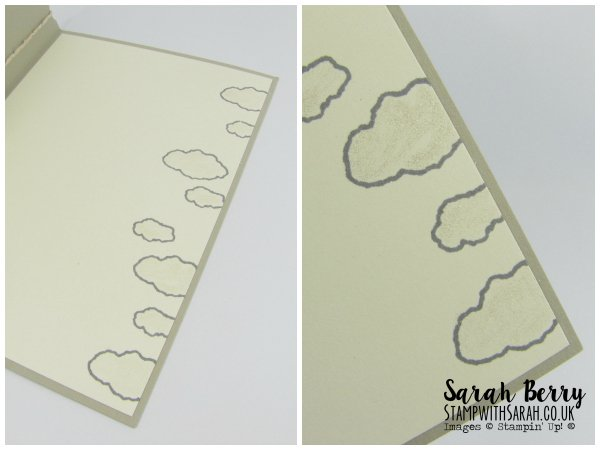 Close Up of Wink of Stella for Pals Paper Arts #284 by Stampin Up Demonstrator Sarah Berry