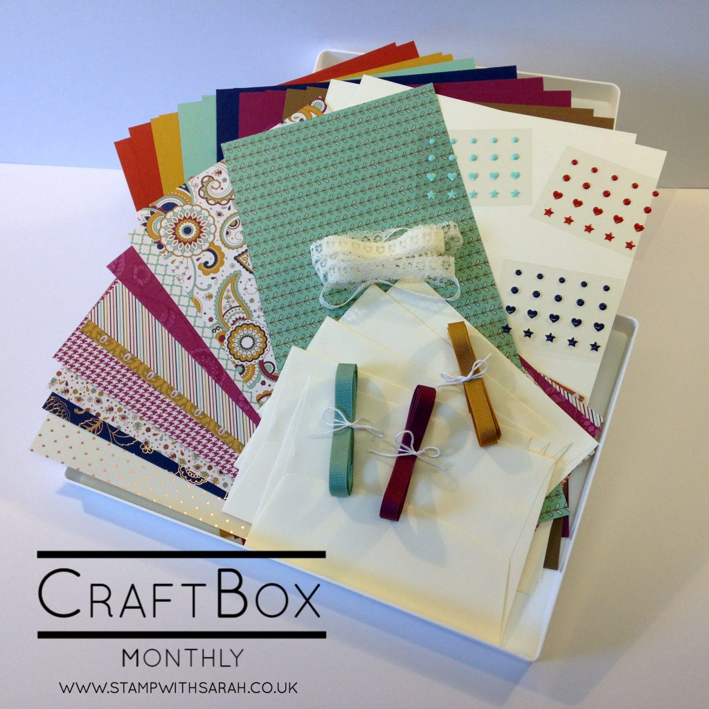 Craft Box Monthly September