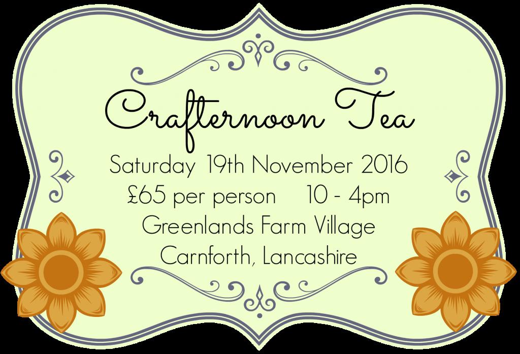 Crafternoon Tea November