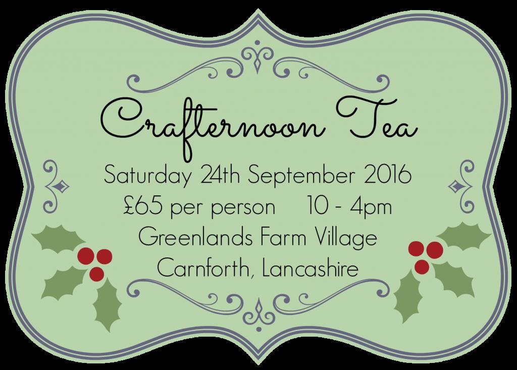 Crafternoon Tea September