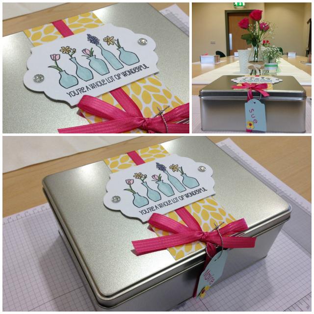 Crafternoon Tea Tin Gift