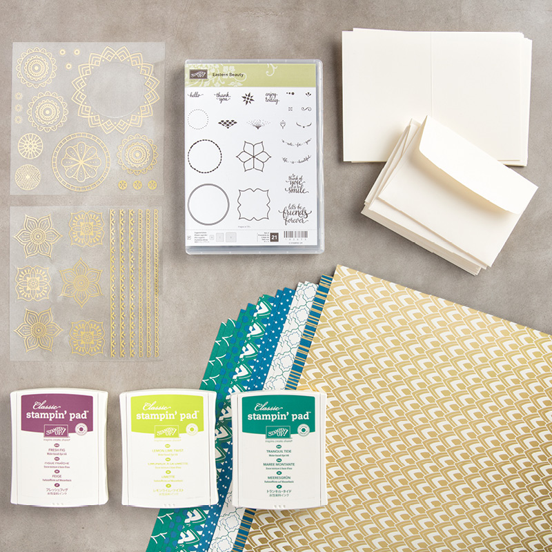 English Starter Bundle Stampin' Up! UK