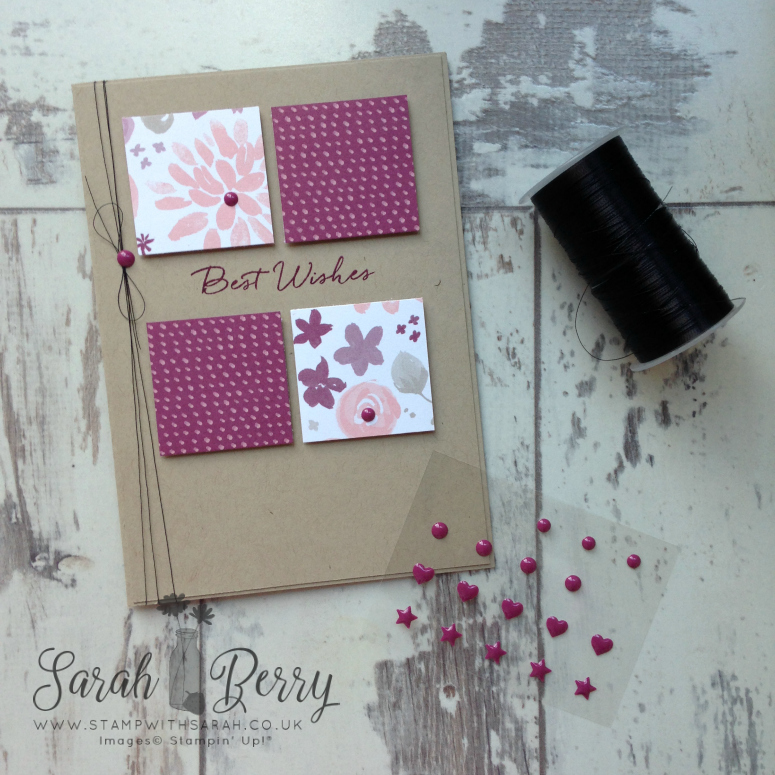 Exiting new weekly sketches at www.stampwithsarah.co.uk Strawberry Sketches #SS001