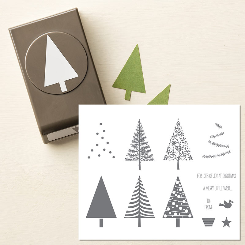Festival of Trees Bundle Stampin' Up! UK 137640