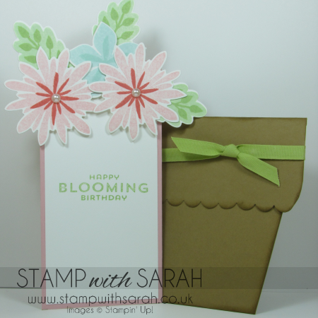Flower Patch Card Inside