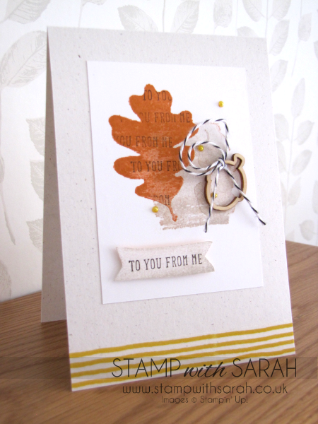 For All Things Autumn-Winter Stampin' Up!