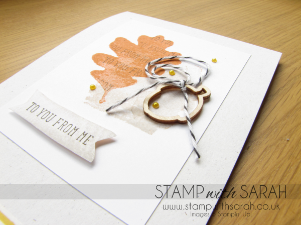 For All Things Close Up Autumn-Winter Stampin' Up!