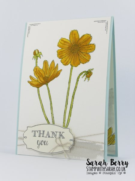 Helping Me Grow card for Cas(e) this sketch #156 by Stampin Up Demonstrator Sarah Berry