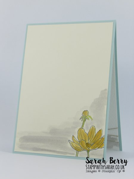 Helping Me Grow card insides for Cas(e) this sketch #156 by Stampin Up Demonstrator Sarah Berry