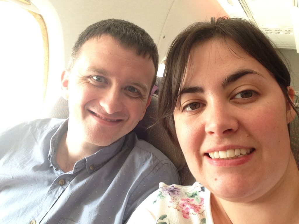 On board and ready for take off!