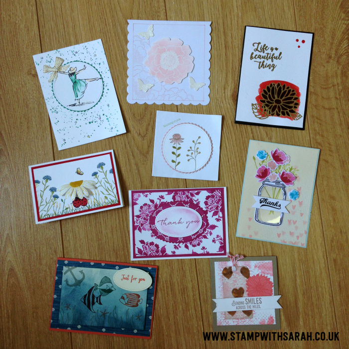 Just some of the card's I've received since I started the Mkae A Card Send A Card Group