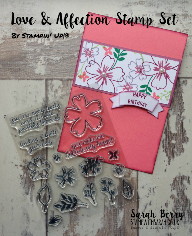 Love & Affection stamp set, new for 2016-2017 AnnualCatalogue #stampinup #bloghop