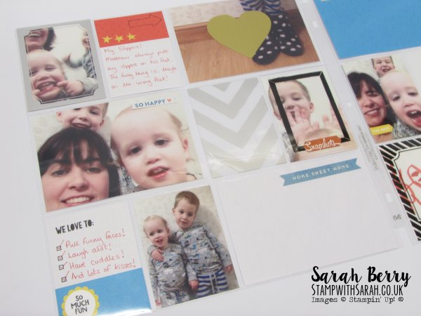 Memories in the Making Card Collection SAB by Stampin' Up! Demonstrator Sarah Berry