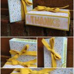 Stampin Up UK Stamp with Sarah Berry Oversized Maltesers Matchbox