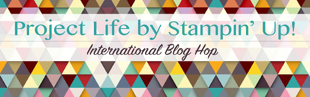 Project Life blog hop april Header
