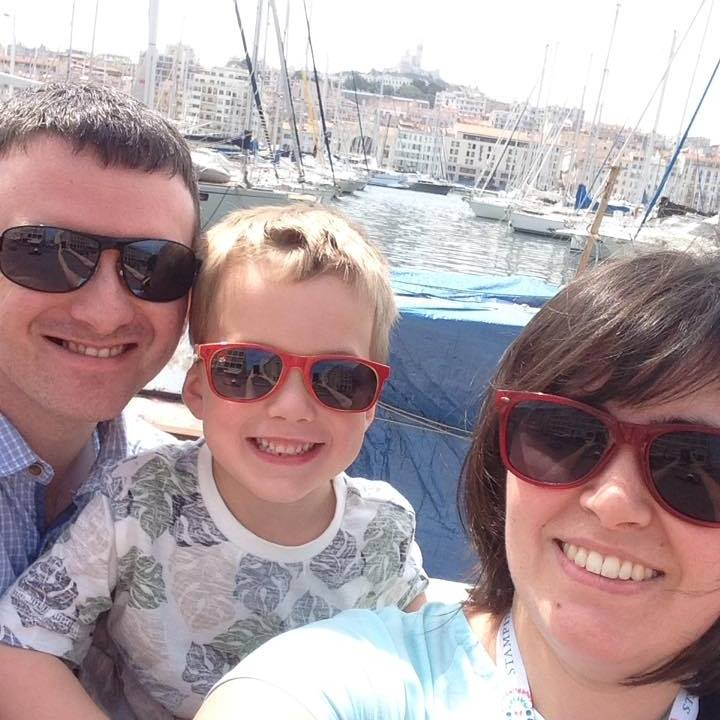 Selphie at the Marseille docks