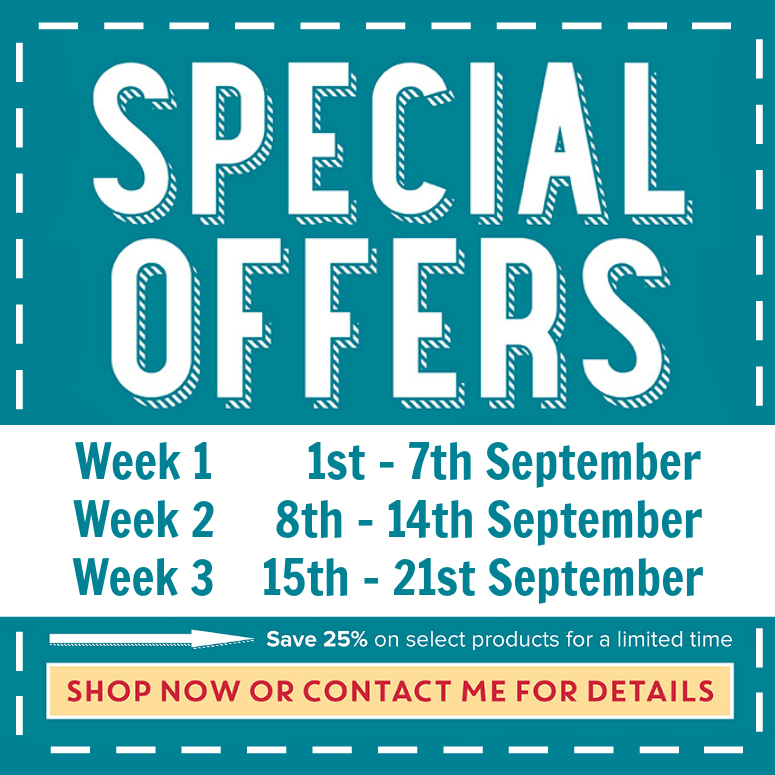 Special Offers 1st - 21st September 2016