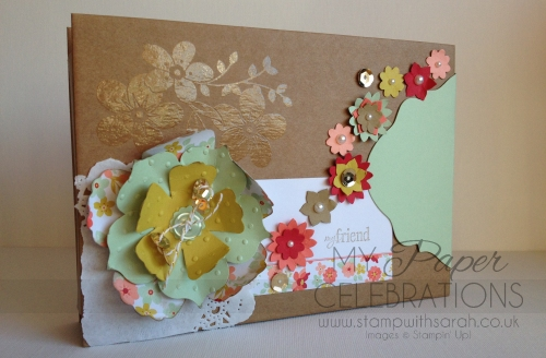 Spring Blossoms Card Box