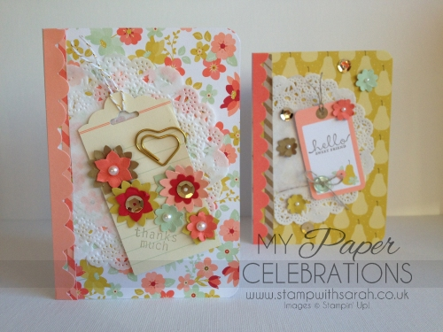 Spring Blossoms Cards