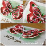 Stamp with Sarah Berry Stampin Up UK Watercolor Watercolour Wings Pinkies BlogHop