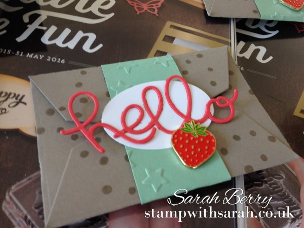 Stamp with Sarah New Strawberry Stampers Gifts Close Up