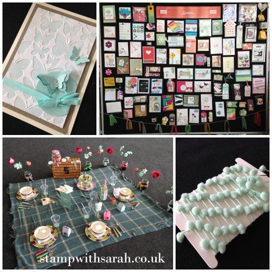 Stamp with Sarah Stampin Up UK Regional Telford Display 2