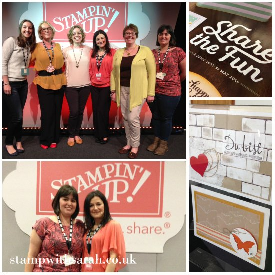Stamp with Sarah Stampin Up UK Regional Telford Presentation Team