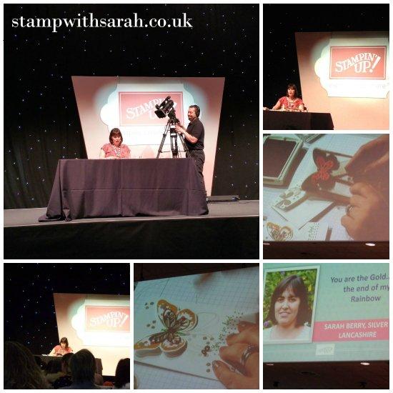 Stamp with Sarah Stampin Up UK Regional Telford Presentation