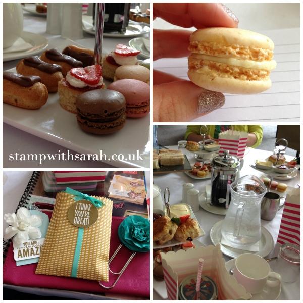 Stamp with Sarah Stampin Up UK Telford Weekend Afternoon Tea