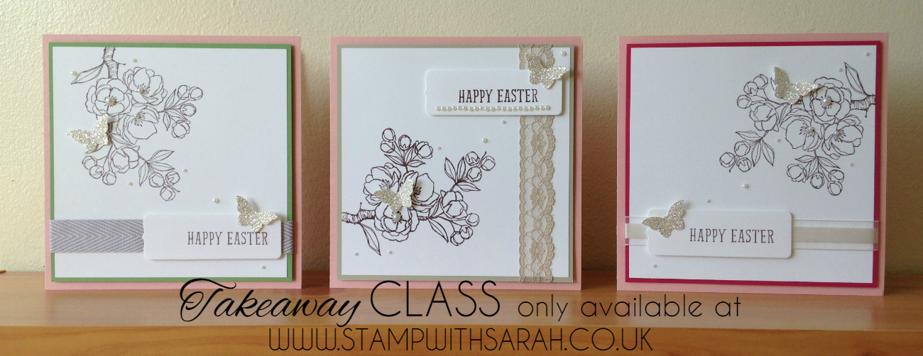 Stampin Up Stamp with Sarah Berry Takeaway Class Indescribable Gift