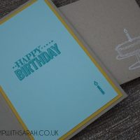 Stampin Up UK Stamp with Sarah Berry Big Day Stamp Set Saleabration Inside
