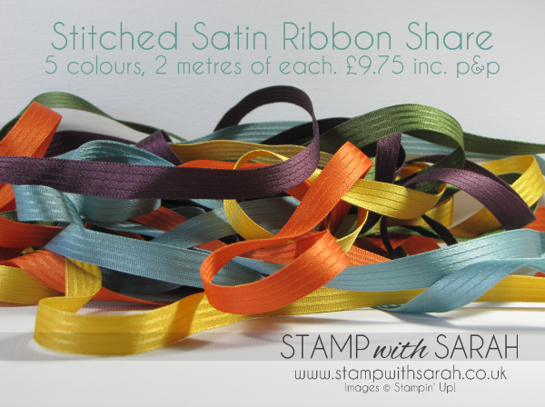 Stitched Satin Ribbon Share Bundle
