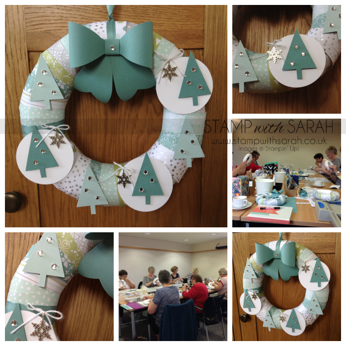 Stampin' Up! Festival of Trees Wreath Retreat